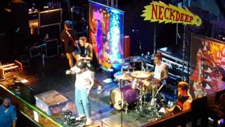 """Neck Deep """"I Hope This Comes Back To Haunt You"""" Live"""