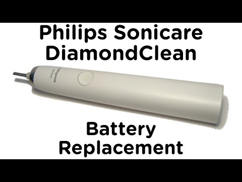 Battery Replacement Guide for Philips Sonicare DiamondClean Toothbrush