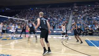 Highlights: LBSU vs UCLA MVB (1-19-19)