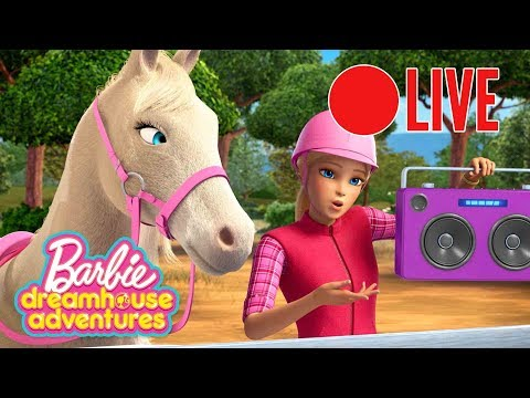 🔴Barbie LIVE 💖Barbie Traumvilla-Abenteuer 🔴Barbie Cartoon 💖Barbie Deutsch  🌈Neue Folgen