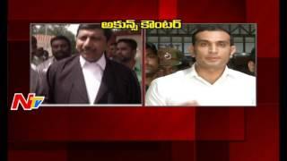 Akun Sabharwal Counter to Heroine Charmi Lawyer || SIT Investigation || Drugs Case || NTV