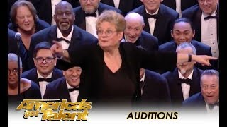 Angel City Chorale: Choir Of 160 People Takes America By STORM!! | America's Got Talent 2018