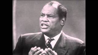 Paul Robeson: On colonialism, African-American rights (Spotlight, ABC,1960)