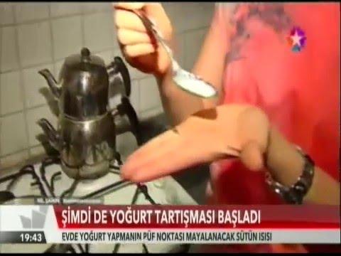 Evde Yoğurt Yapımı - Nil Şahin Gürhan - Star TV