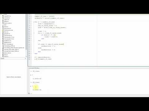 Part 1: Monte Carlo Simulations in MATLAB (Tutorial)