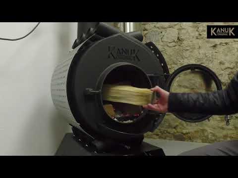 Kanuk® Original Werkstattofen richtig anzünden | Tutorial