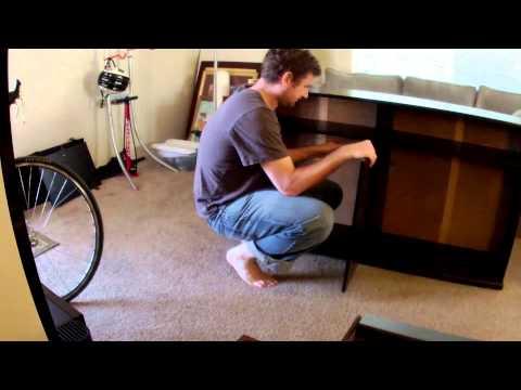 re-assembling the Ikea Alve cabinet