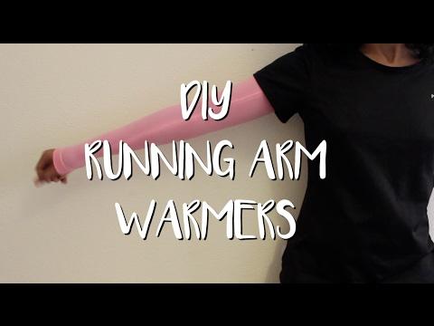 DIY - Cómo hacer Manguitos para correr | MANNEKEN