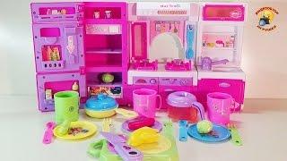 Мини-кухня детский набор для девочек / Kitchenette baby kit for girls