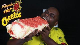 BEAST MODE DESTROYS HOT CHEETOS BURRITOS | AMAZING REACTION