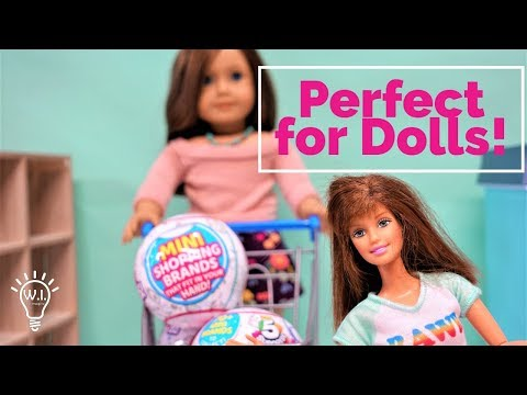 5 Surprise Mini Brands For Barbie And American Girl Dolls
