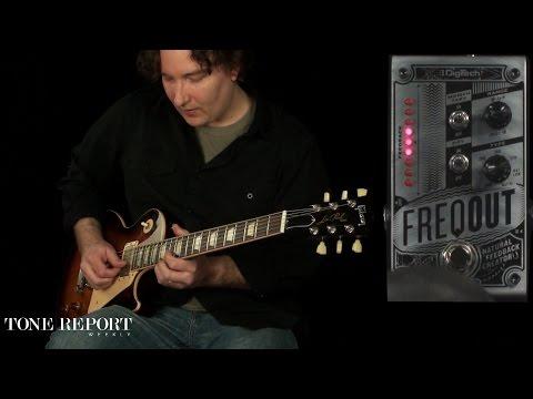 Silver FREQOUT-U DigiTech Dynamic Feedback Guitar Expression Pedal