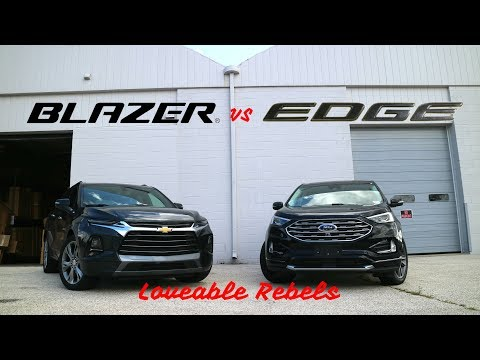 WHEEL 2 WHEEL | Chevy Blazer vs Ford Edge