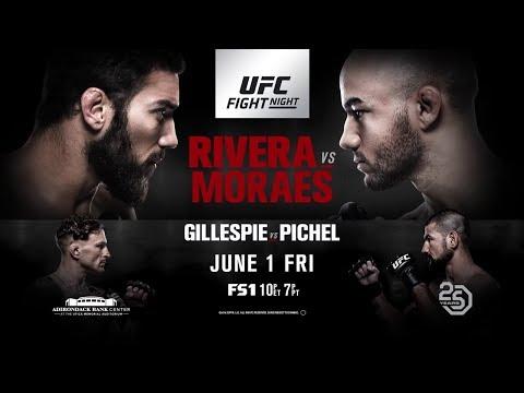 UFC Fight Night 131: Rivera vs Moraes / РИВЕРА - МОРАЕС