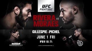 Обзор UFC Fight Night 131: Джимми Ривера против Марлона Мораеса