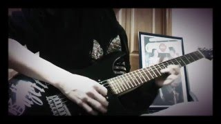 the GazettE CALM ENVY Guitar Cover 麗Part