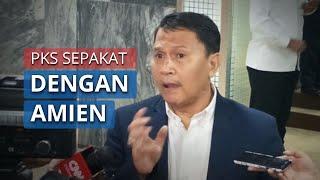PKS Sepakat dengan Amien Rais soal Kriteria Menteri jika Benar-Benar Terjadi Reshuffle