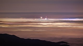 Ocean of Fog covers Los Angeles (From Malibu to DTLA)