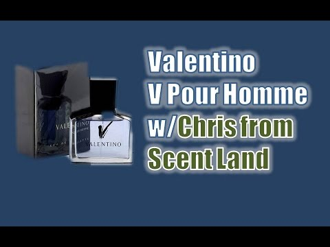 Valentino V Pour Homme with Scent Land (sexy scent)