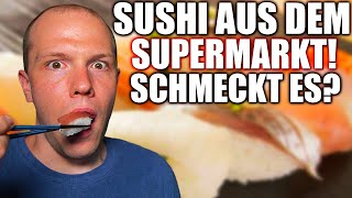 Schmeckt Sushi aus dem japanischen Supermarkt?! - Wie man Sushi richtig isst!