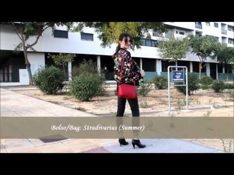 Shein Floral Bomber Outfit - YouTube