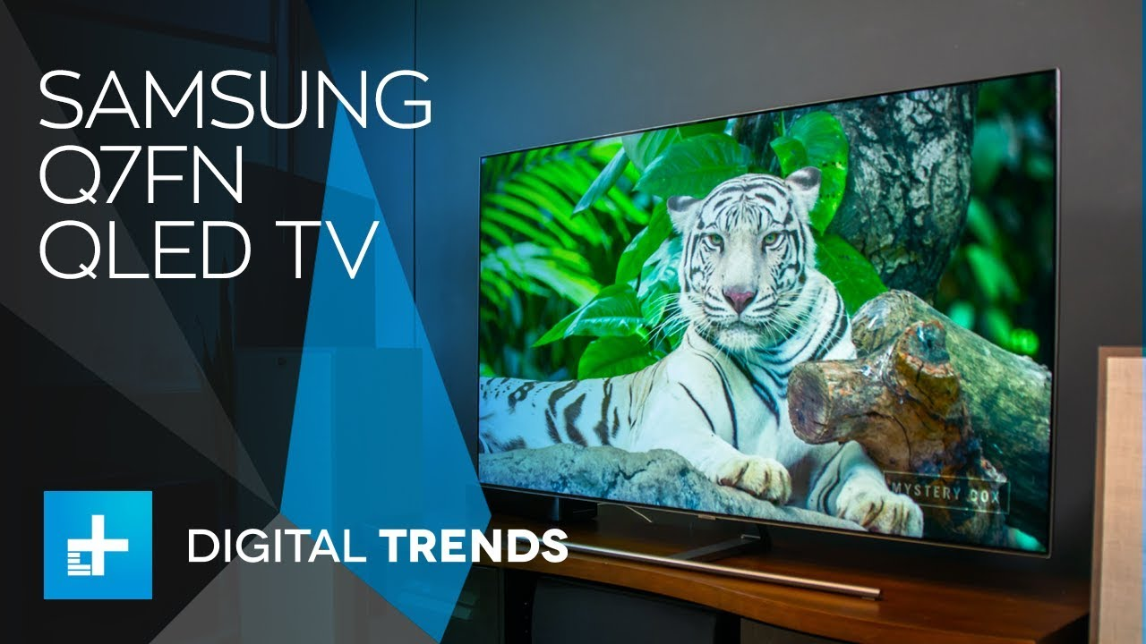Samsung Q7FN QLED TV - Hands On Review / samsung q7fn / InfiniTube