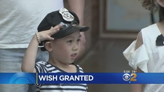 Little Boy With Cancer Honored By New York