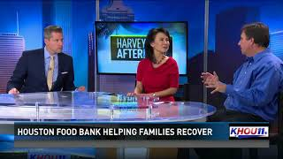 Houston Food Bank helping families recover