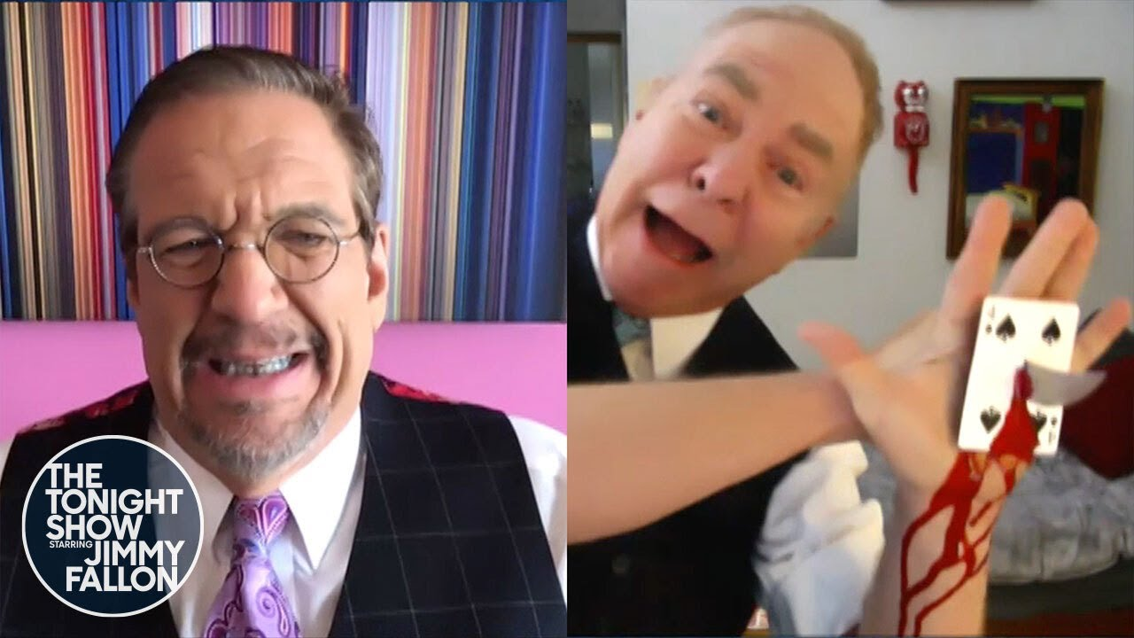 Penn & Teller Perform a Special Card Trick for Jimmy thumbnail