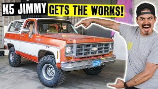 Making a 1978 K5 GMC Jimmy 200% More Live-able With Sound Deadening