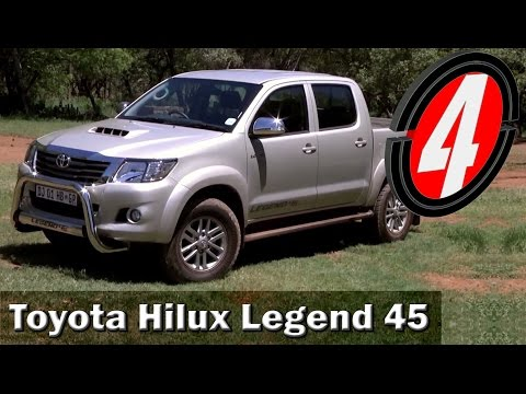 2014 Toyota Hilux Legend 45 | New Car Review