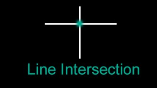 How to find point of intersection between two lines, Intersection between two lines (java, javascript, c++, c#, python, matlab) In this tutorial, this is the...