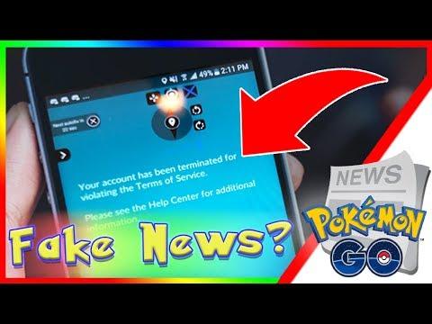 NEW BAN WAVE IN POKEMON GO?! RED MESSAGE EXPLANATION! - смотреть