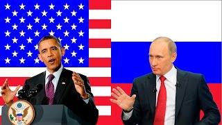 Путин и Обама в сравнении. (TV Германии).