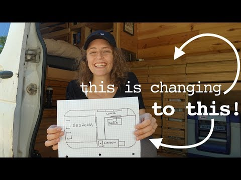 WE'RE TEARING EVERYTHING OUT | home renovation // van conversion
