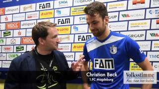 Christian Beck im Interview