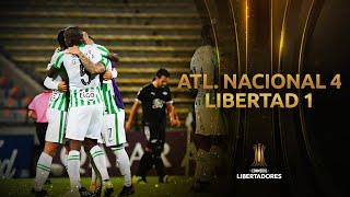 Atlético Nacional vs. Libertad [4-1]   RESUMEN   Fase 3   VUELTA   CONMEBOL Libertadores
