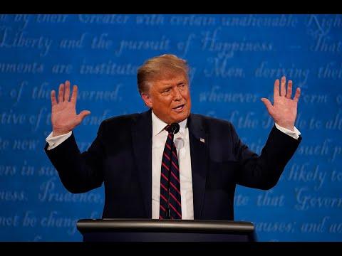 Trump Argues With Biden About Masks