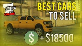 "GTA 5 Online - ""BEST CARS TO SELL & MAKE MONEY!"" (Easy Money in GTA Online)"