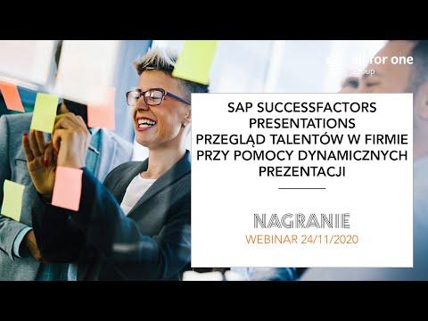 SAP SuccessFactors Presentations – przegląd talentów w firmie przy pomocy dynamicznych prezentacji