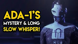 Destiny 2 - ADA-1'S CREATION! Long Slow Whisper, Project Niobe, MORE!
