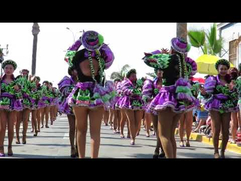 CARNAVAL ANDINO ARICA  2018 : CAPORALES  SAN  MARTÍN