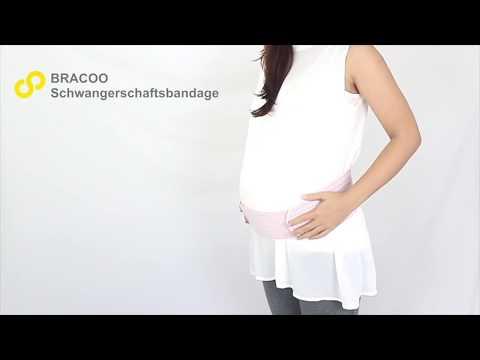 BRACOO Schwangerschaftsbandage - perfekte Unterstützung für werdende Mütter