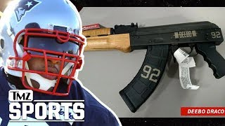 James Harrison: I Got My Own Custom AK-47! I TMZ SPORTS