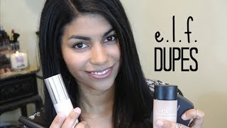 E.l.f. Dupes For High End Products: Benefit, MAC, Clinique & Makeup Forever