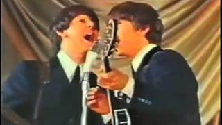 BEATLES LIVE 1963: She Loves You & Twist and Shout in Gorgeous Color!