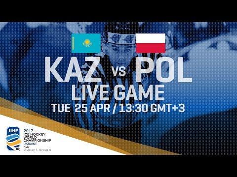 Kazakhstan - Poland | Full Game | 2017 IIHF Ice Hockey World Championship Division I Group A