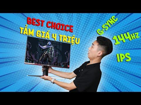 AOC 24G2 - Màn hình gaming giá rẻ tốt nhất tầm giá 4 triệu???