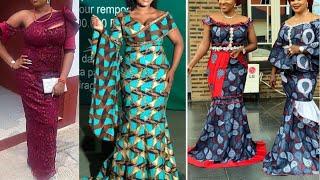 African Fashion : Ankara Lace Styles || Asoebi Styles || 2020 Ankara Styles For Pretty Babes