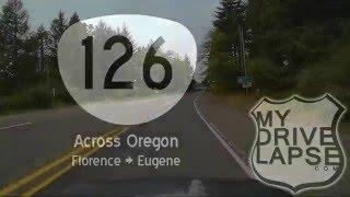 Florence to Eugene on Oregon 126